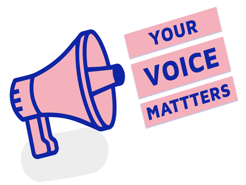 Your Voice Matters Megaphone Icon